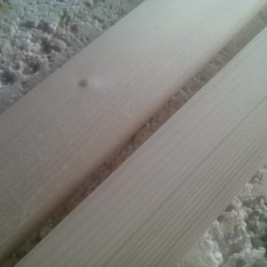 there is a big difference between a sanded board and a straightened one