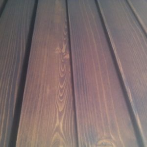 unlike the varnish, which hides it, the stain preserve the natural beauty of the wood