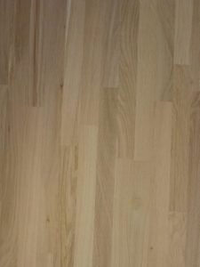 this is the oak wood panel bought from the DIY store, made out of finger joint narrow oak wood planks