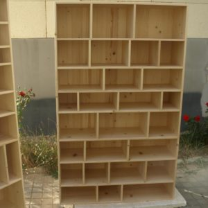A very useful storage furniture with a lot of compartments for storing a lot of things