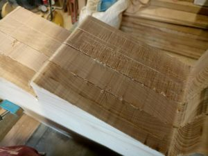 you can see that using the handmade template is very useful to be able to repeat identical cuts