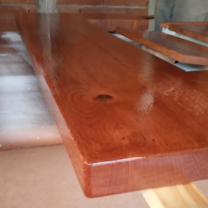 I applied anti-scratch polyurethane primer and varnish for long protection