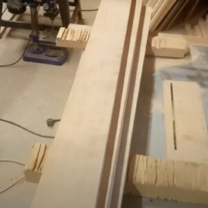 we used ash wood boards to show you how to laminate with ease by using our clamping system
