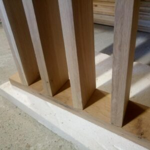 the boards are perpendicular, they are parallel to each other and they are positioned at 10 degrees to the edge of the base board