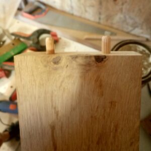 the 3d printed drill jig for dowels works great