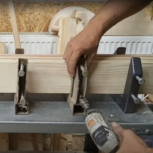 the DIY clamps for building your own laminated timber
