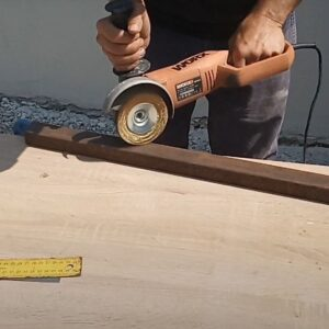 square tube used to make our DIY double C clamps for laminating timber