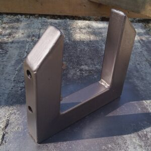 the DIY C clamps for laminating timber beams after painting