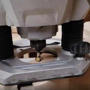 this is the keyhole slot router bit I used to route the keyholes into the back of the wooden wall mounted bookshleves