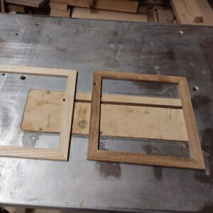 these are the frames that I will use to build the wall floating shelves