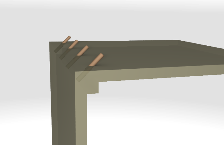how we make strong corner joints to our MDF pieces of furniture